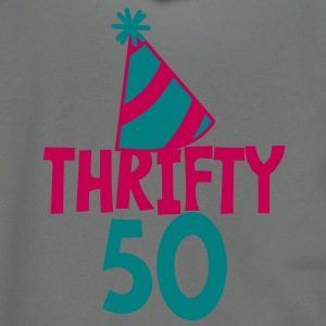 BIRTHDAY 50 thrifty FIFTY Zip Hoodies/Jackets - Unisex Fleece Zip Hoodie by American Apparel