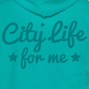 city life for me with stars city lights! Zip Hoodies/Jackets - Unisex Fleece Zip Hoodie by American Apparel