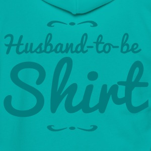 husband to be shirt Zip Hoodies/Jackets - Unisex Fleece Zip Hoodie by American Apparel