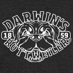 Darwin's Rottweiler Since 1859 - Unisex Tri-Blend T-Shirt by American Apparel