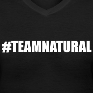 Team Natural Women's T-Shirts - Women's V-Neck T-Shirt