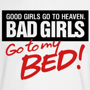 Bad Girls 2 My Bed 2 (2c)++ Long Sleeve Shirts - Men's Long Sleeve T-Shirt