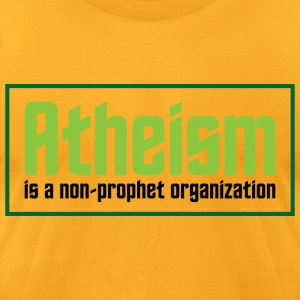 Atheism 3 (dd)++ T-Shirts - Men's T-Shirt by American Apparel