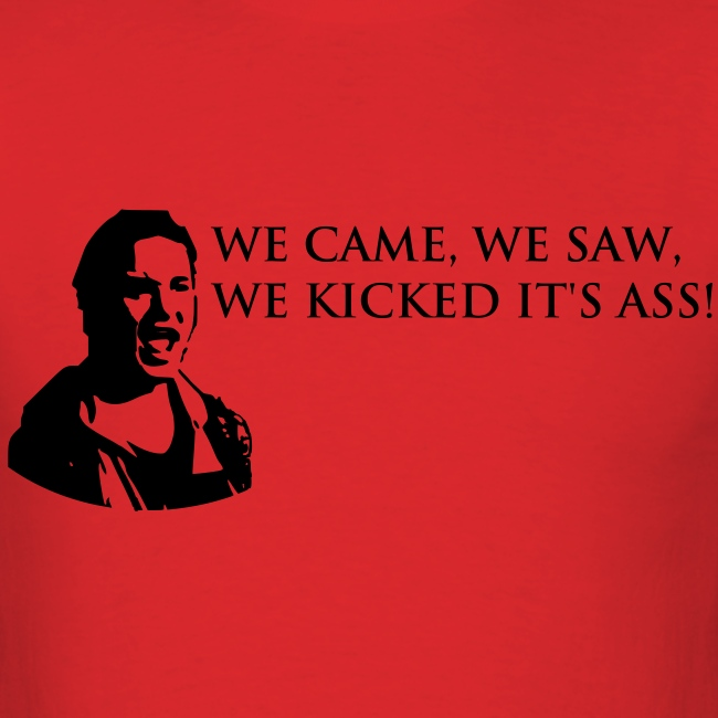 We Came, We Saw...