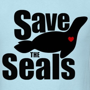 Save The Seals - Men's T-Shirt