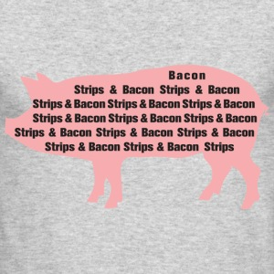 Bacon Strips - Men's Long Sleeve T-Shirt by Next Level