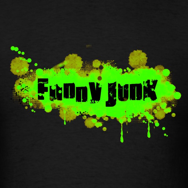 Green FunnyJunk Splatter