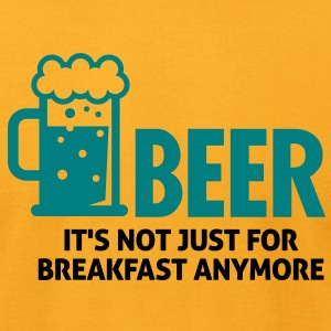 Beer For Breakfast 3 (2c)++ T-Shirts - Men's T-Shirt by American Apparel