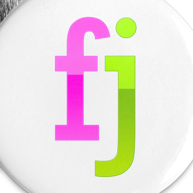 FJ Buttons Purple and Green