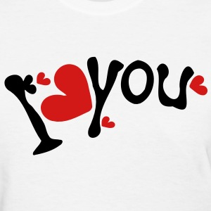 I heart you Women's Standard Weight T-Shirt - Women's T-Shirt