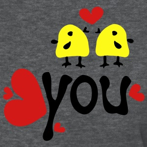 Love you yellow birds Women's Standard Weight T-Shirt - Women's T-Shirt