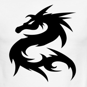 Dragon Design Ringer Shirt - Men's Ringer T-Shirt