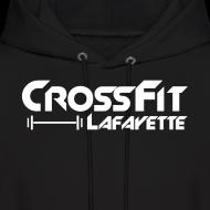 Design ~ CrossFit Lafayette - Black Hooded Sweat Shirt