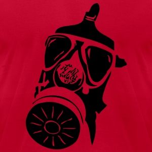 Gasmask vec T-Shirts - Men's T-Shirt by American Apparel