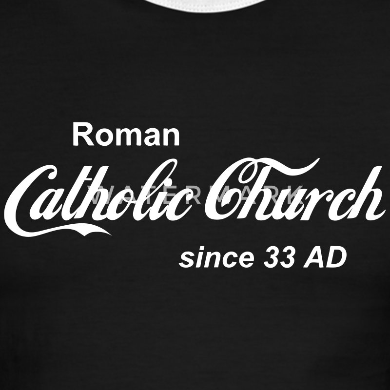 Catholic Church - Men's Ringer T-Shirt