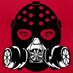 Gasmask 3 vec T-Shirts - Men's T-Shirt by American Apparel