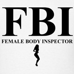 female body inspector - Men's T-Shirt