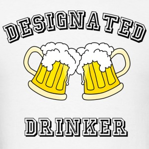 designated drinker - Men's T-Shirt