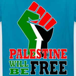 Palestine will be free - Kids' T-Shirt