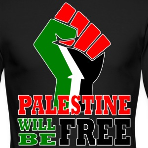 Palestine will be free - Men's Long Sleeve T-Shirt by Next Level