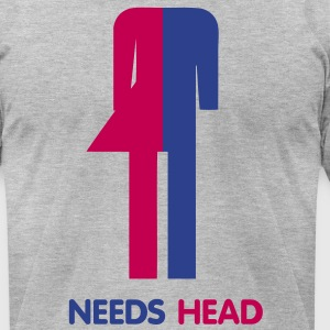 Ladyboy Needs Head - Men's T-Shirt by American Apparel