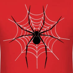 Spiderweb HD Design T-Shirts