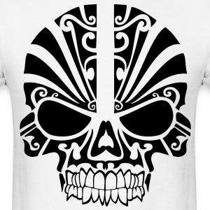 Tribal Skull HD Vector T-Shirts - Men's T-Shirt