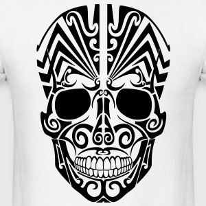 Tribal Skull 2 HD Vector T-Shirts - Men's T-Shirt