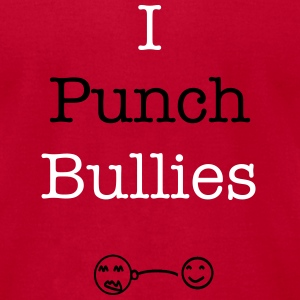 Punch A Bully Classic - Men's T-Shirt by American Apparel