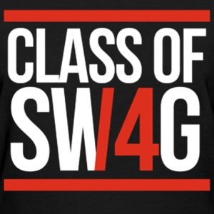 CLASS OF SWAG/14 (RED WITH BANDS)  Women's T-Shirts - Women's T-Shirt