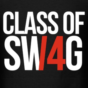 CLASS OF SWAG/14 (RED WITH NO BAND)  T-Shirts - Men's T-Shirt