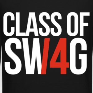 CLASS OF SWAG/14 (RED WITH NO BAND)  Long Sleeve Shirts - Crewneck Sweatshirt