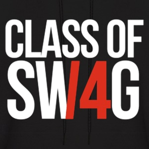CLASS OF SWAG/14 (RED WITH NO BAND)  Hoodies - Men's Hoodie