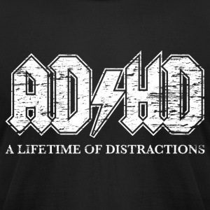ADHD - Men's T-Shirt by American Apparel