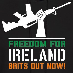 Freedom for Ireland! - Men's Hoodie