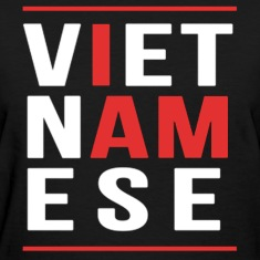 I AM VIETNAMESE (red with bands) Women's T-Shirts
