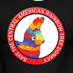 Save the Central American Rainbow Tree Donkey - Men's Ringer T-Shirt
