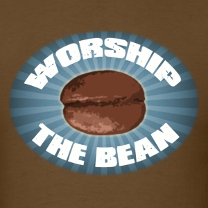 Worship The Bean - Men's T-Shirt