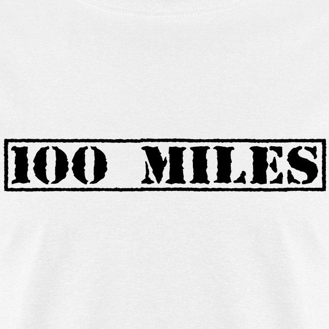 Top Secret 100 Miles Men's Standard T-Shirt