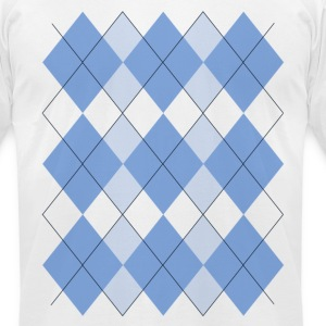 Argyle T-Shirt - Men's T-Shirt by American Apparel