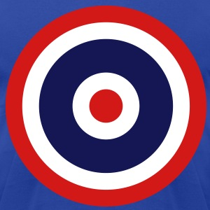 Thai Roundel Target Flag - Men's T-Shirt by American Apparel