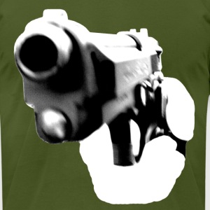 Handgun - Men's T-Shirt by American Apparel
