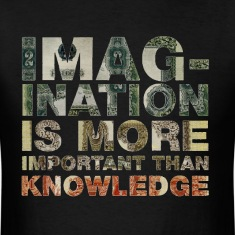 Imagination Is More Important Than Knowledge Tee