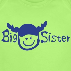 Big sister Baby Short Sleeve One Piece - Short Sleeve Baby Bodysuit
