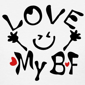 LOVE my BF Women's Standard Weight T-Shirt - Women's T-Shirt