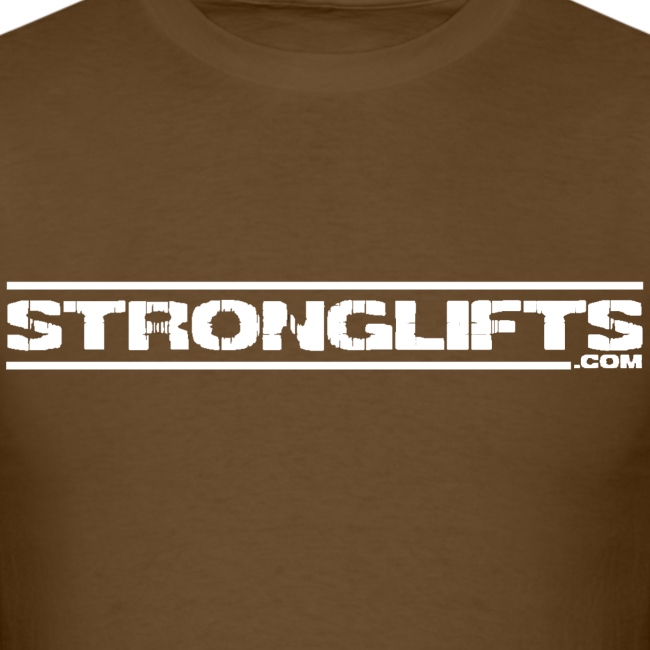 StrongLifts Brown T-shirt Without Slogan