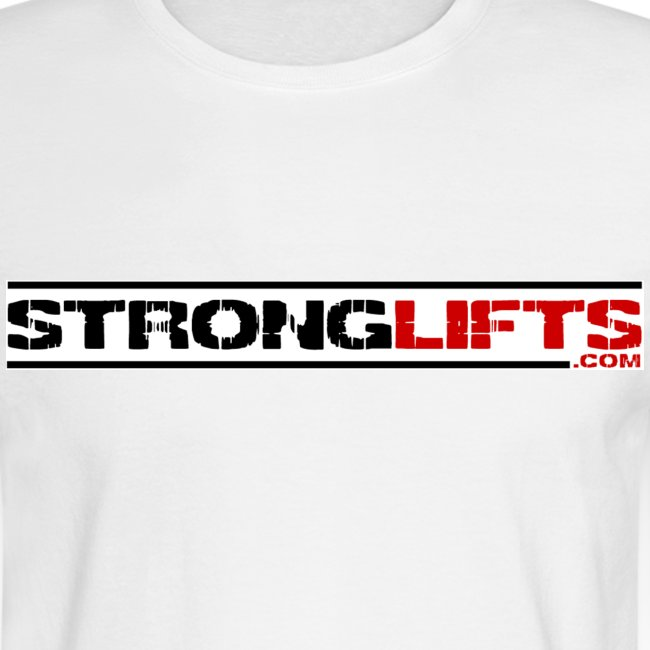 StrongLifts Long Sleeve T-shirt White Without Slogan