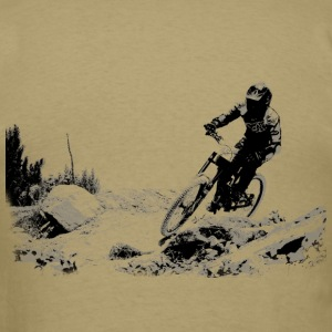 Single track - Men's T-Shirt