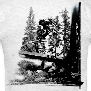 Downhill log jump - Men's T-Shirt