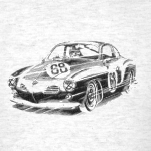 Ratrod Karmann Ghia T-Shirts - Men's T-Shirt